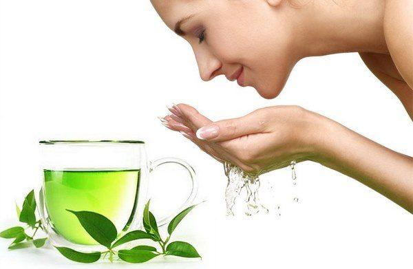 làm đẹp từ trà xanh