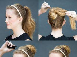 kiểu tóc đơn giản dễ làm