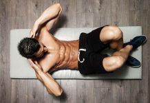 bài tập cơ bụng 6 múi tại nhà cho nam