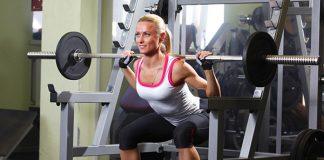 các bài tập chân cho nữ tại phòng gym