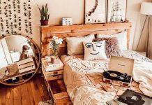 decor phòng ngủ vintage
